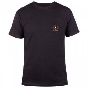 T-SHIRT REBELHORN CASUAL BLACK/RED/WHITE XXL