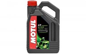 Olej silnikowy MOTUL 5100 4T ESTER 15W50 4L