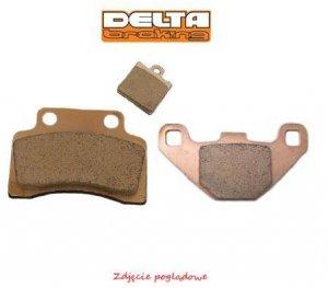 Klocki hamulcowe motocyklowe DELTA DB2190 (odpowiednik FA134)