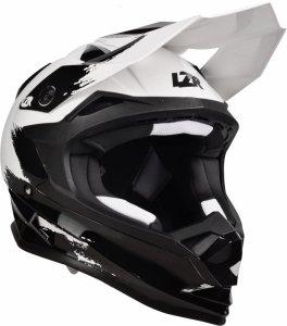 Kask Motocyklowy LAZER OR1 Jr X-Line (kol. Czarny - Biały - Matowy) rozm. XS