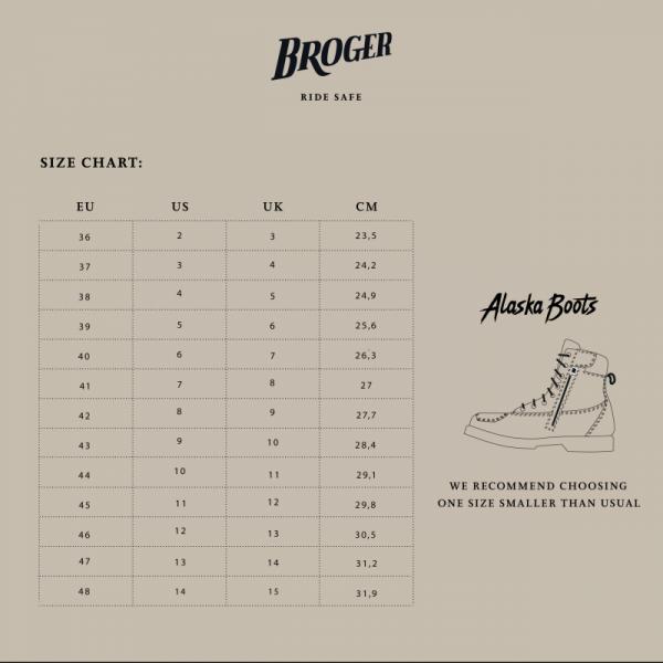 BUTY BROGER ALASKA VINTAGE BROWN 48