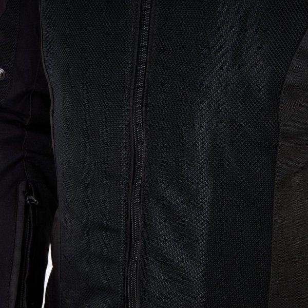 KURTKA TEKSTYLNA REBELHORN HIFLOW IV BLACK/SILVER/FLO YELLOW M