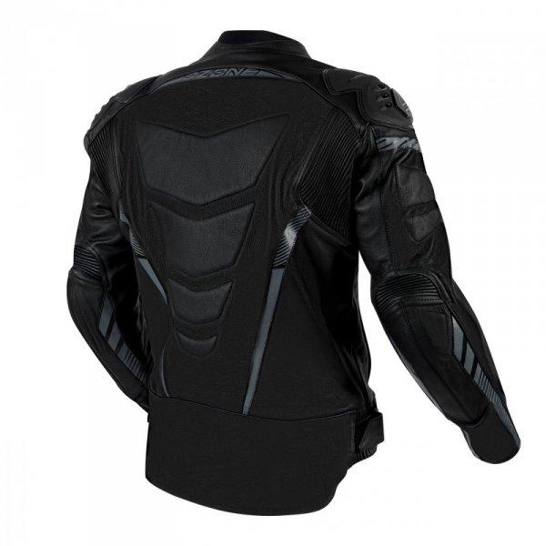 KURTKA SKÓRZANA OZONE RS600 BLACK/GREY 60 60(4XL)