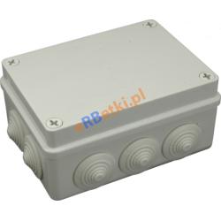 Puszka instalacyjna S-BOX 406 190 x 140 x 70, 10 dławików, IP 55