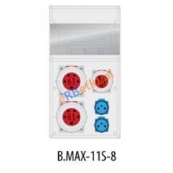 Rozdzielnica MAX BOX-11S 2x63A/5p, 1x16A/5p, 2x230V, IP 65