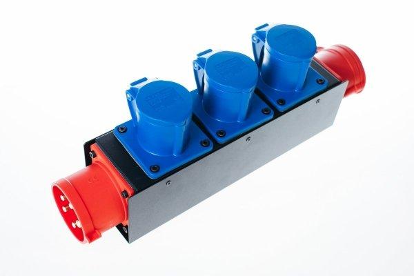 Electricbox rozgałęziacz zasilania 3 fazy 16A