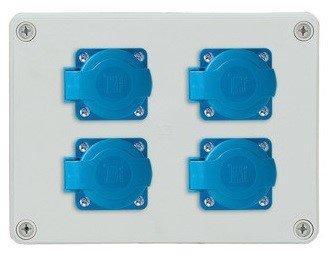 Rozdzielnica R-BOX 190 4x230V, IP44