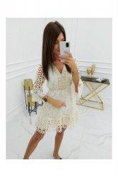 Sukienka Mayca Cotton HY1036 Apricot