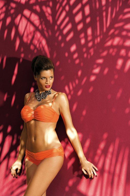 Kostium kąpielowy Eliza Tropico M-122 Pomarańczowy (236)