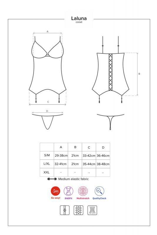 Obsessive Laluna corset