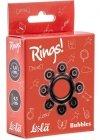 Pierścień-Cockring Rings Bubbles black