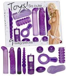 Zestaw zabawek erotycznych 9 szt.