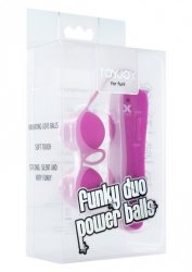 Kulki-FUNKY DUO POWER BALLS PURPLE