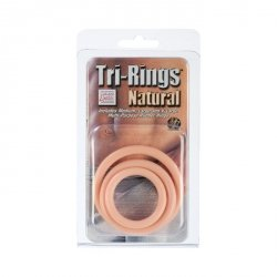 Pierścień-TRI-RINGS NATURAL