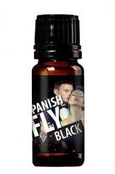 MOCNE MĘSKIE FEROMONY SPANISH FLY BLACK 10ml