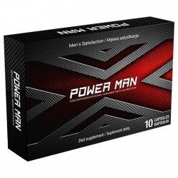 PowerMan! Prawdziwa siła erekcji w kapsułkach! - 10 kaps.