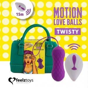 Feelztoys - zdalnie sterowane kulki Motion Twisty
