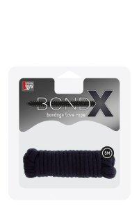 Wiązania-BONDX LOVE ROPE - 5M BLACK