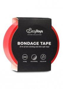 Wiązania-Red Bondage Tape 20 m