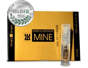 Wyrafinowane uwodzicielskie perfumy z feromonami BeMine 2ml dla mężczyzn