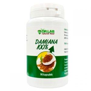 Ziele Damiana 90kaps bez wypełniaczy NATURAL