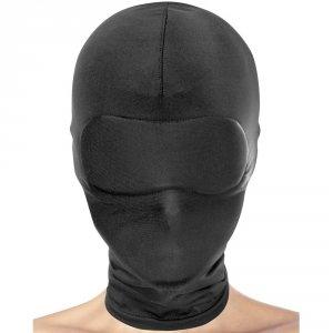 Maska na całą głowę bez otworów na oczy i usta