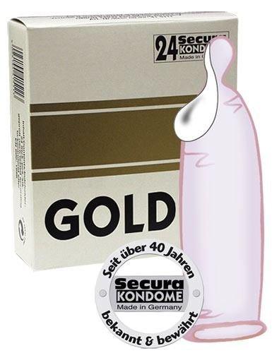 Prezerwatywy Secura gold super-wet 24 szt