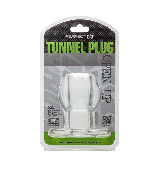 Perfect Fit - Ass Tunnel Plug rozmiar XL (przeźroczysty)