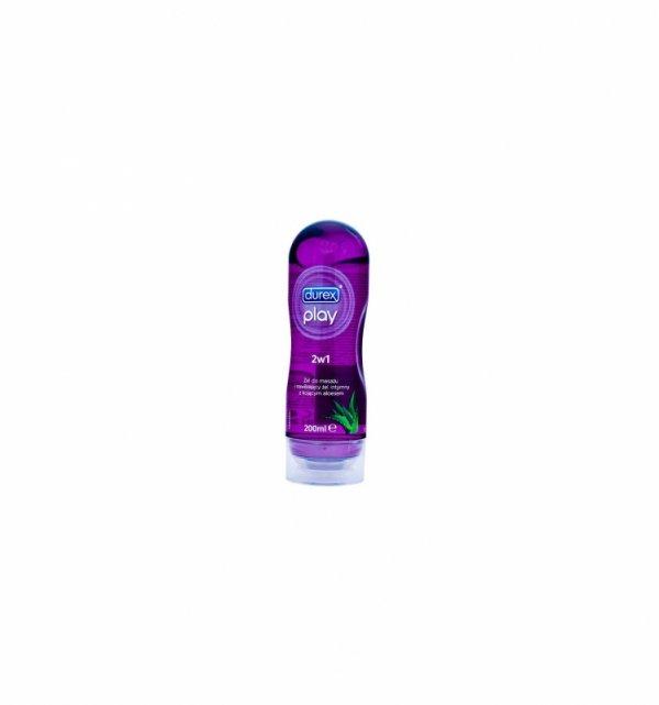 Durex żel intymny i do masażu 2w1 Aloe Vera 200ml