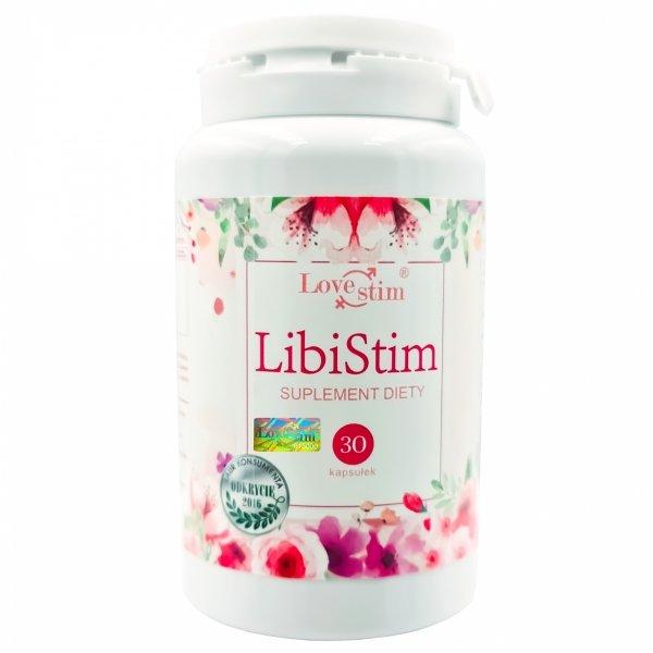 LIBISTIM NOWY MOCNY SUPLEMENT NA LIBIDO DLA KOBIET 30kaps