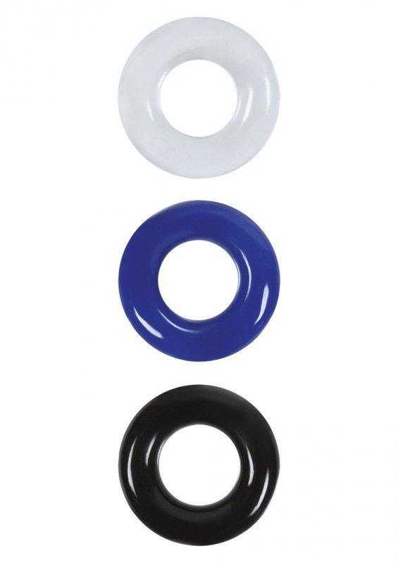 Pierścień-Cock Ring Set-color