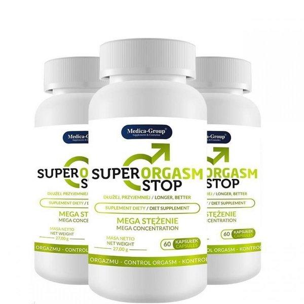 3 x Super Orgasm Stop - opóźnienie wytrysku