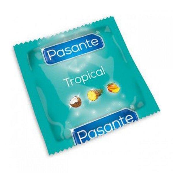 Prezerwatywy TROPICAL PASANTE kokos, ananas, mango