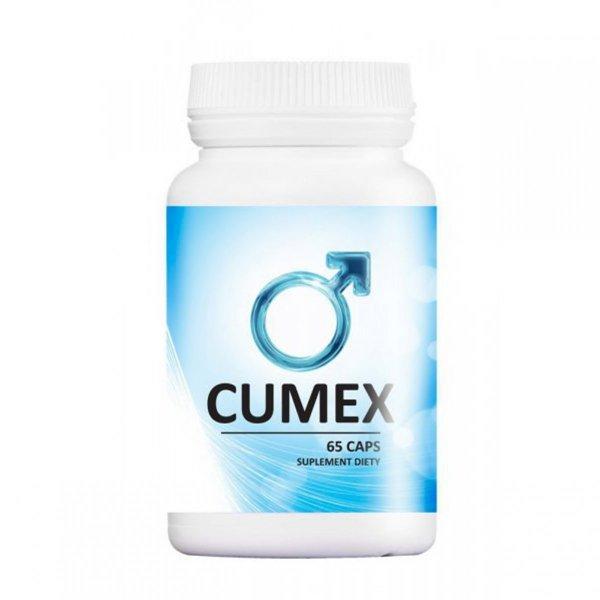 Cumex 65 kaps. WIĘKSZY WYTRYSK