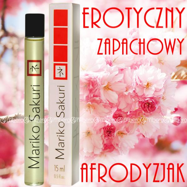 Mariko Sakuri 15 ml for women erotyczny zapach +feromony