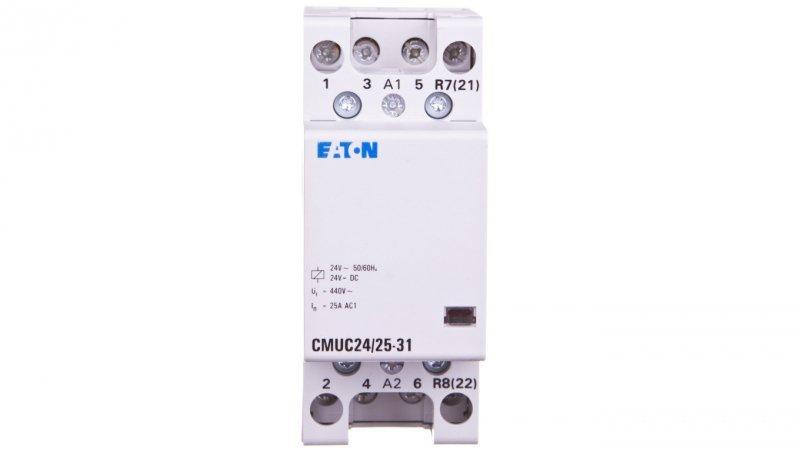 Stycznik modułowy 25A 3Z 1R 24V AC/DC CMUC24/25-31 137400