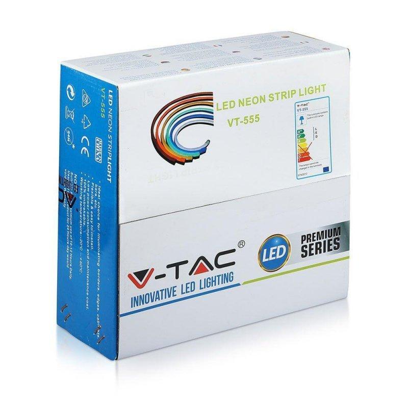 Neon Flex 24V 10mb 8W/m V-TAC VT-555 3000K 320lm