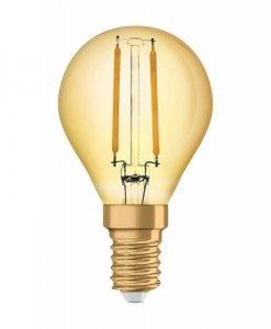 ŻARÓWKA LED E14 2,5W 220LM 2400K VINTAGE P22 OSRAM