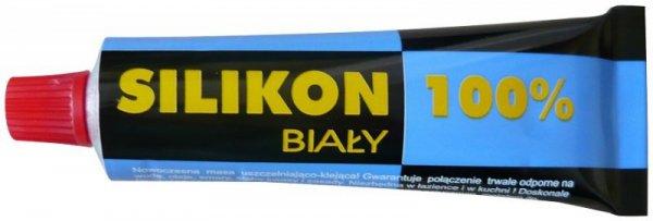 SILIKON 100% - 60G CZARNY