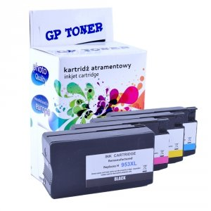 4 Tusze do HP 953XL OfficeJet Pro 7740 8210 8710 8720 8730  - GP-H953XL CMYK Zestaw