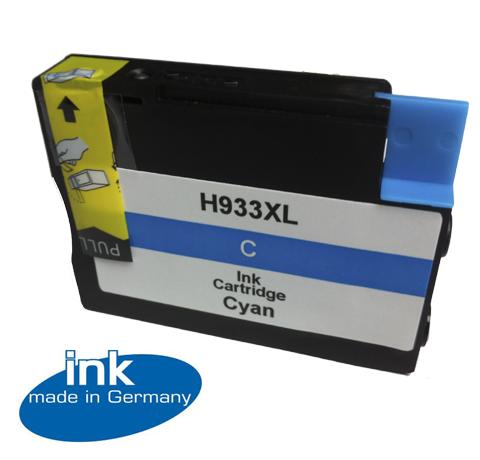 Tusz Zamiennik HP 933XL 6100, 6600, 6700, 7110, 7610 - GP-H933XLC Cyan