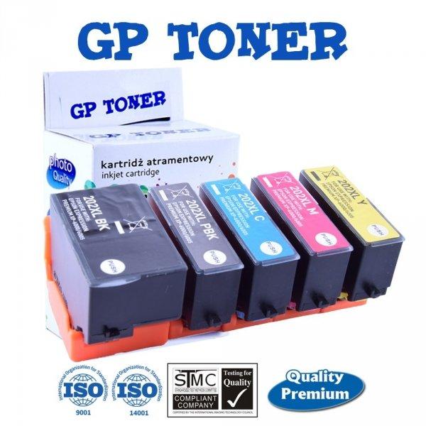 5x Tusze do Epson 202XL Expression Premium XP-6000 XP-6005 XP-6100 - GP-E202CMYK - Zestaw