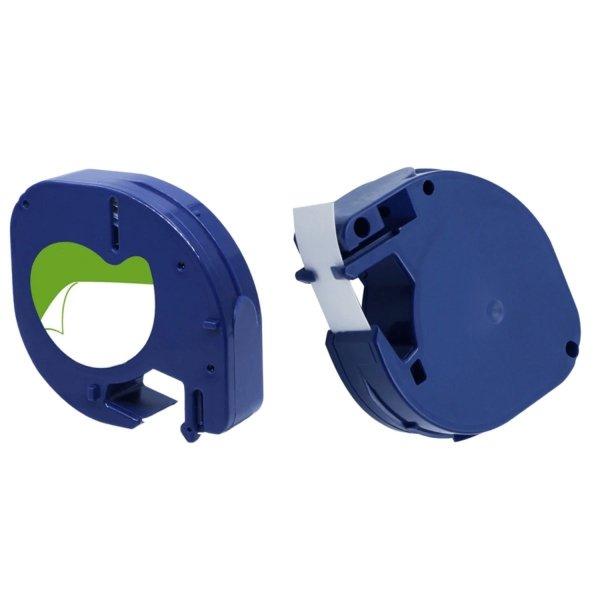 5x Taśma do Dymo LetraTag 59426 12mm x 4m Niebieska Plastik - zamiennik GP-DY59426 x5