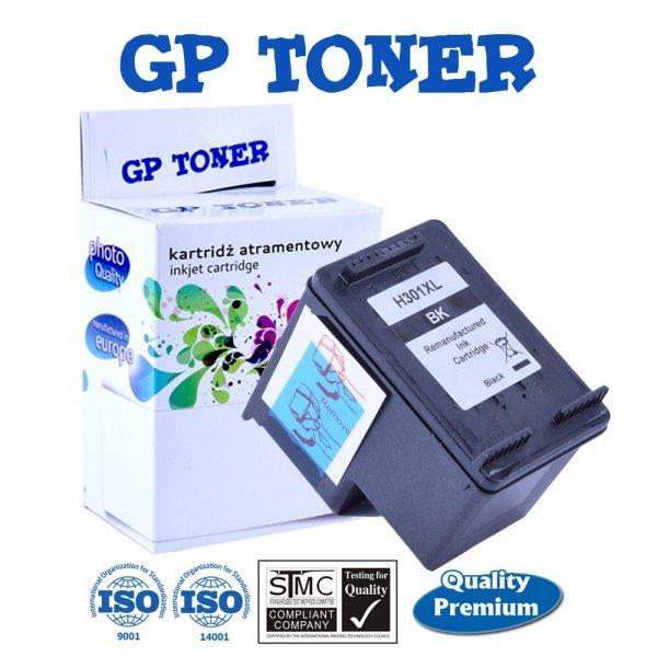 Zgodny Tusz do HP 301XL DeskJet 1050a 1510 2050a 3050 3055 - GP-H301XLBK Black