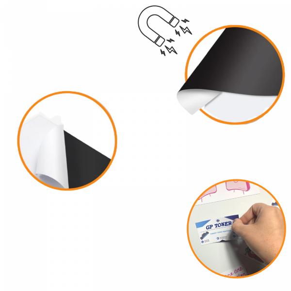 Papier fotograficzny magnetyczny A4 5 szt błyszczący  PAP-MGD640