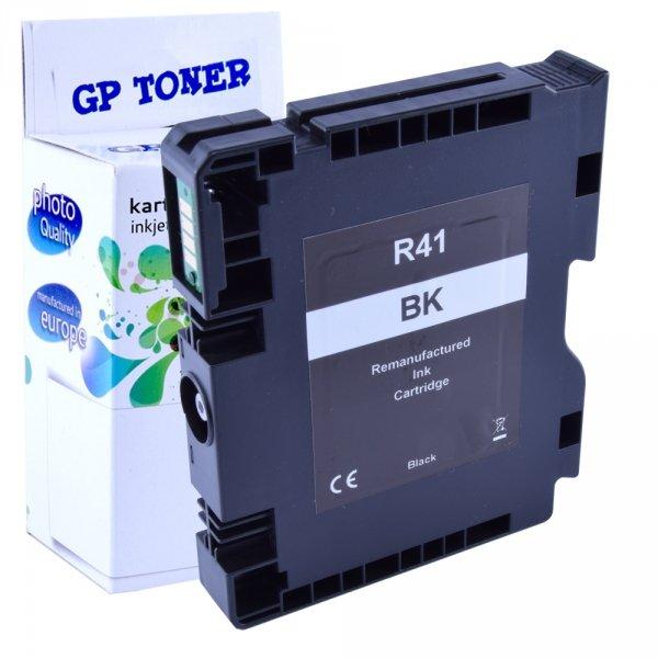 Tusz żelowy do Ricoh SG 2100N 3100SNw 3110DN - GP-R41XL BK - Czarny