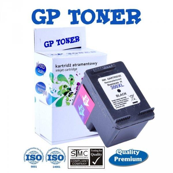 Tusz do HP 300XL DeskJet D2560 F4580 F2480 F4210 F2420 - zamiennik GP-H300XLBK Czarny