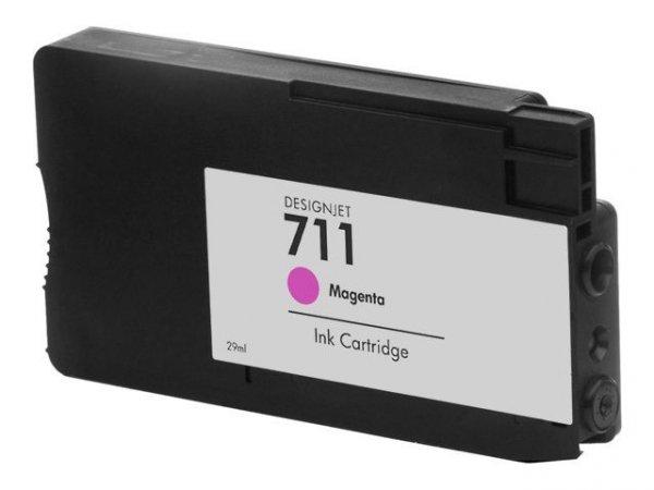 Tusze Zamiennik HP Designjet T120 T520 - GP-H711M Magenta