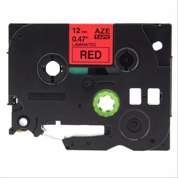 Taśma zamiennik do Brother TZ-431 Czarny na Czerwonym