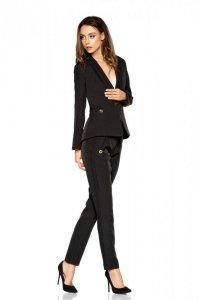 Damskie spodnie garniturowe L279B